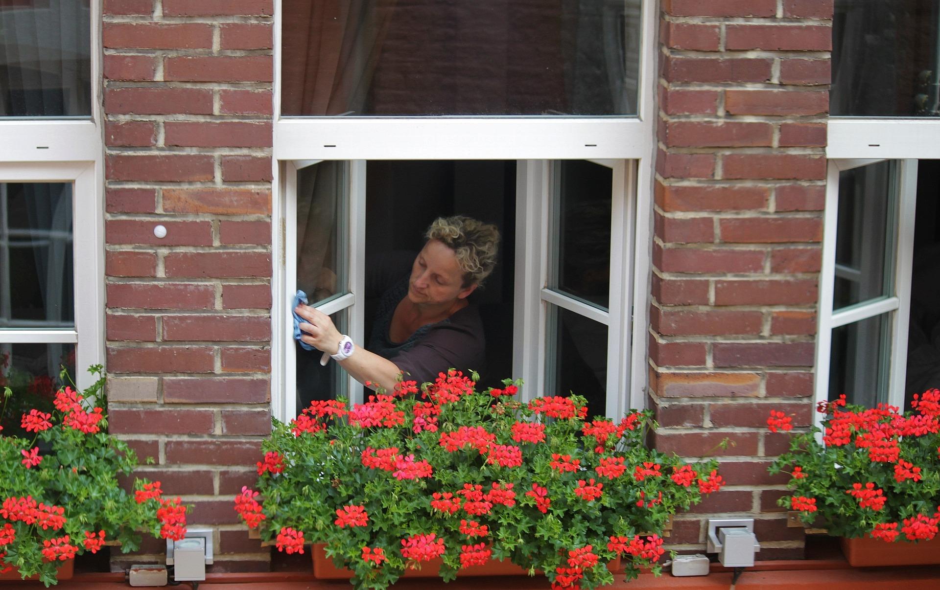 Nettoyer ses vitres ? Avec Lalia, intervenante à Active Aide, c'est facile !