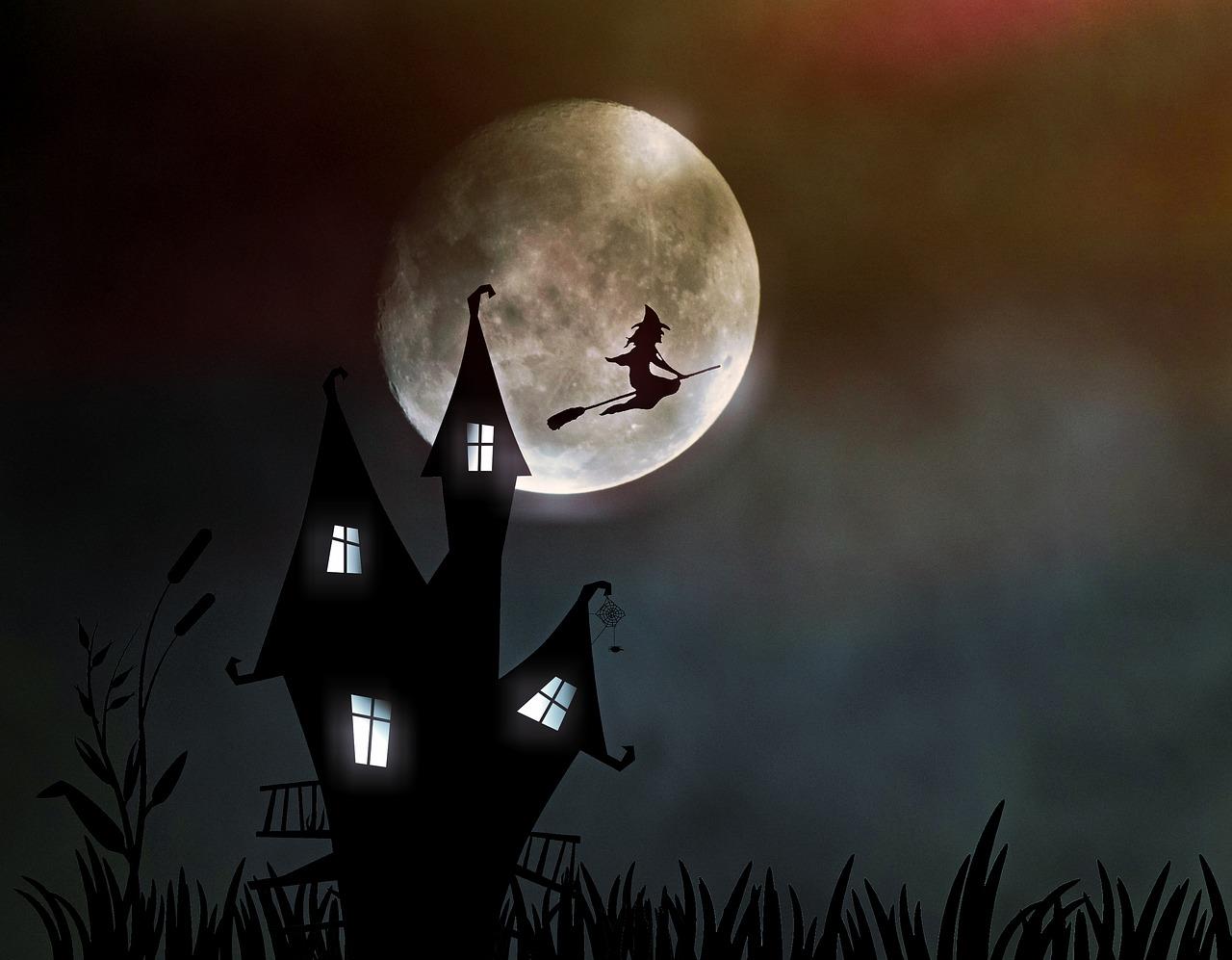 Pourquoi les sorcières sont-elles toujours représentées avec des balais ?