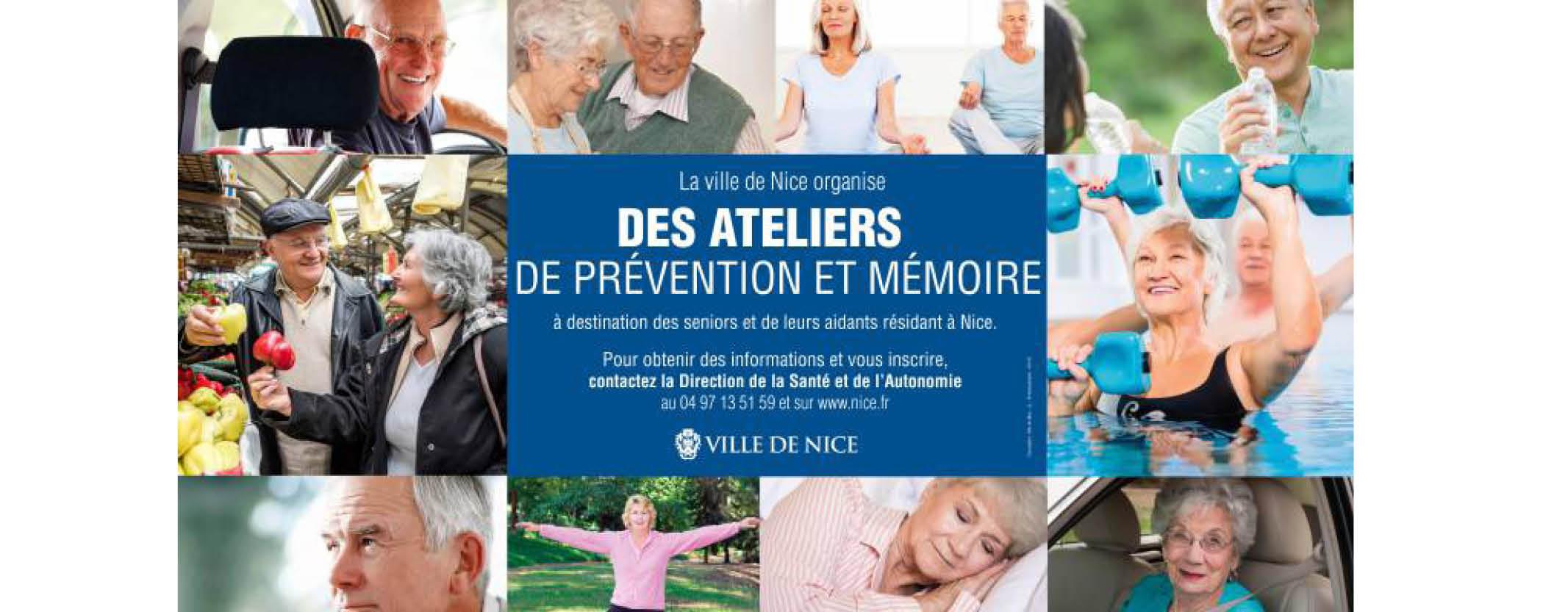 Des ateliers mémoire pour les seniors niçois