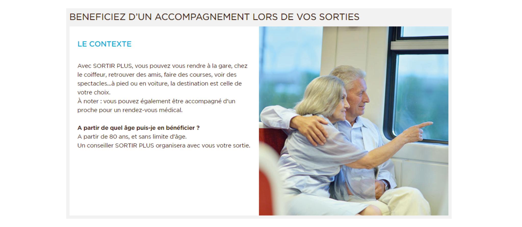 «Sortir plus», le dispositif qui finance l'accompagnement des sorties des seniors de plus de 80 ans
