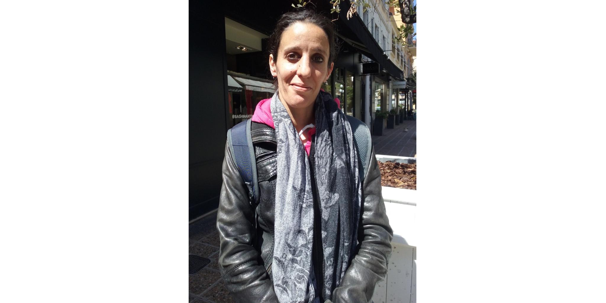 Sandra, assistante ménagère à Active Aide : bien dans ses baskets à la ville comme au travail